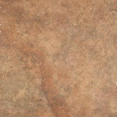 Marazzi Marmo Venato 16 In X Brown Ceramic Floor And Wall Tile