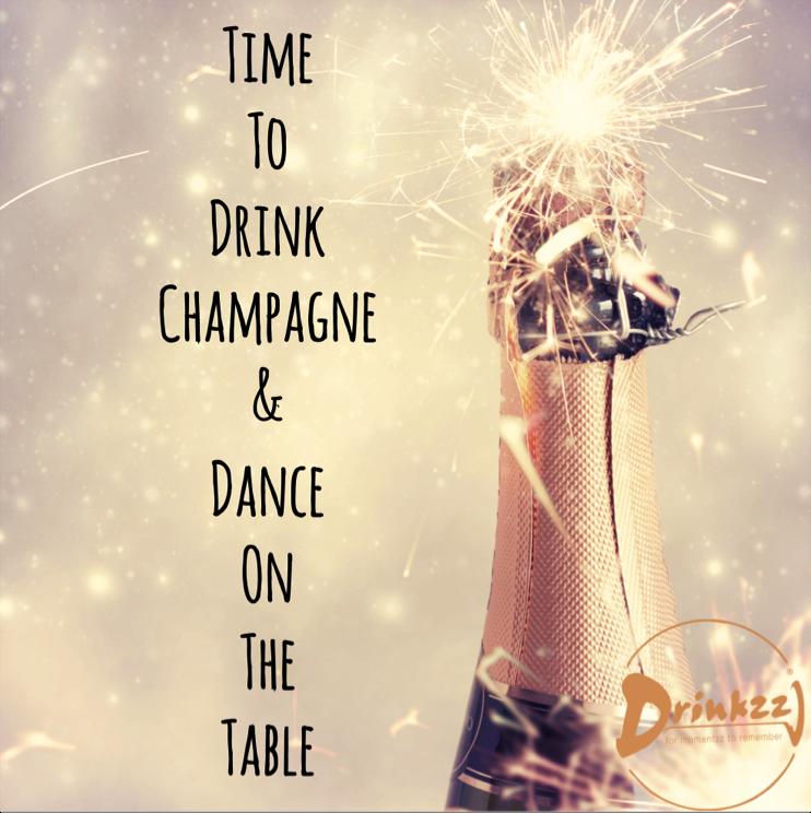 Citaten Verjaardag Jaar : Time to drink champagne and dance on the table cheers