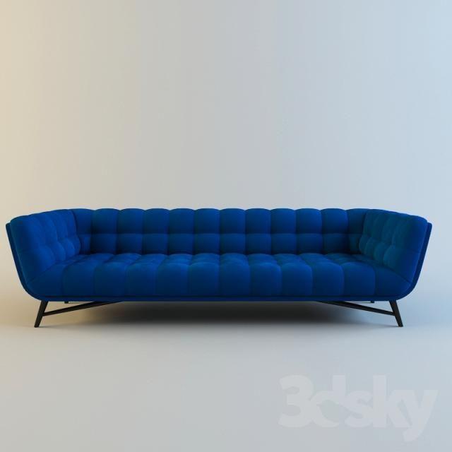 3d Models Sofa Roche Bobois Profile Furniture Upholstered Sofa Sofa Furniture