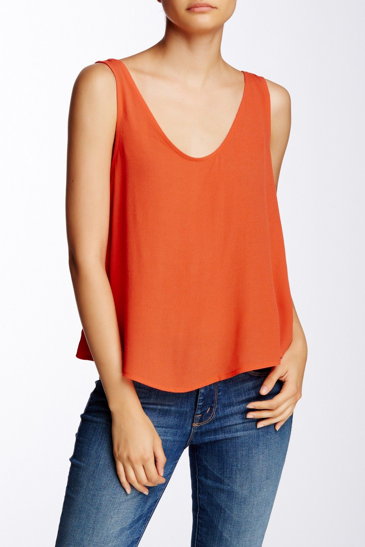 Lace Back Detail Tank by Elodie on @nordstrom_rack