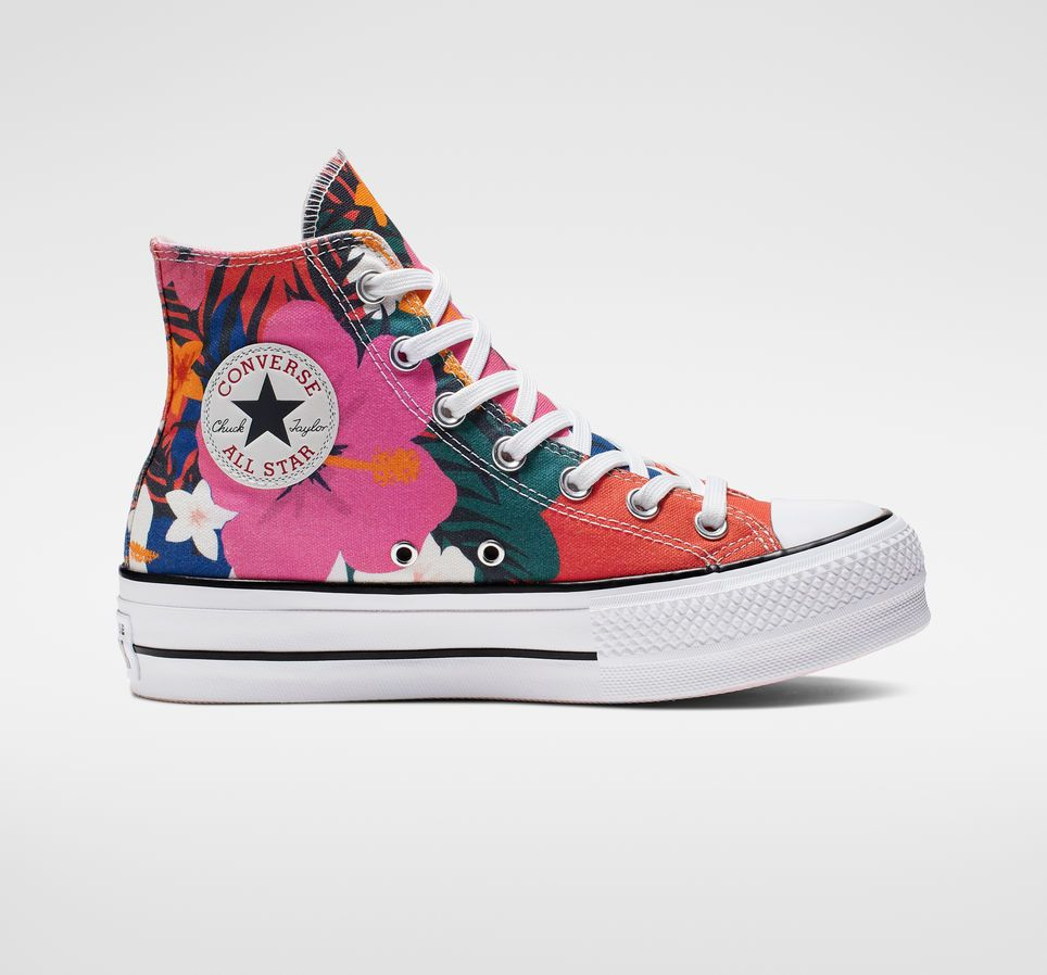 Chuck Taylor All Star Paradise Prints Lift High Top | The