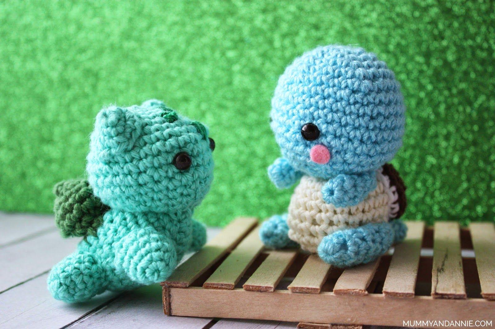 Mummy and Annie : Bulbasaur patrón amigurumi / Bulbasaur amigurumi ...