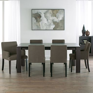 1450 Studio Tribeca 7 Pc Dining Set Jcpenney Solid Hardwood