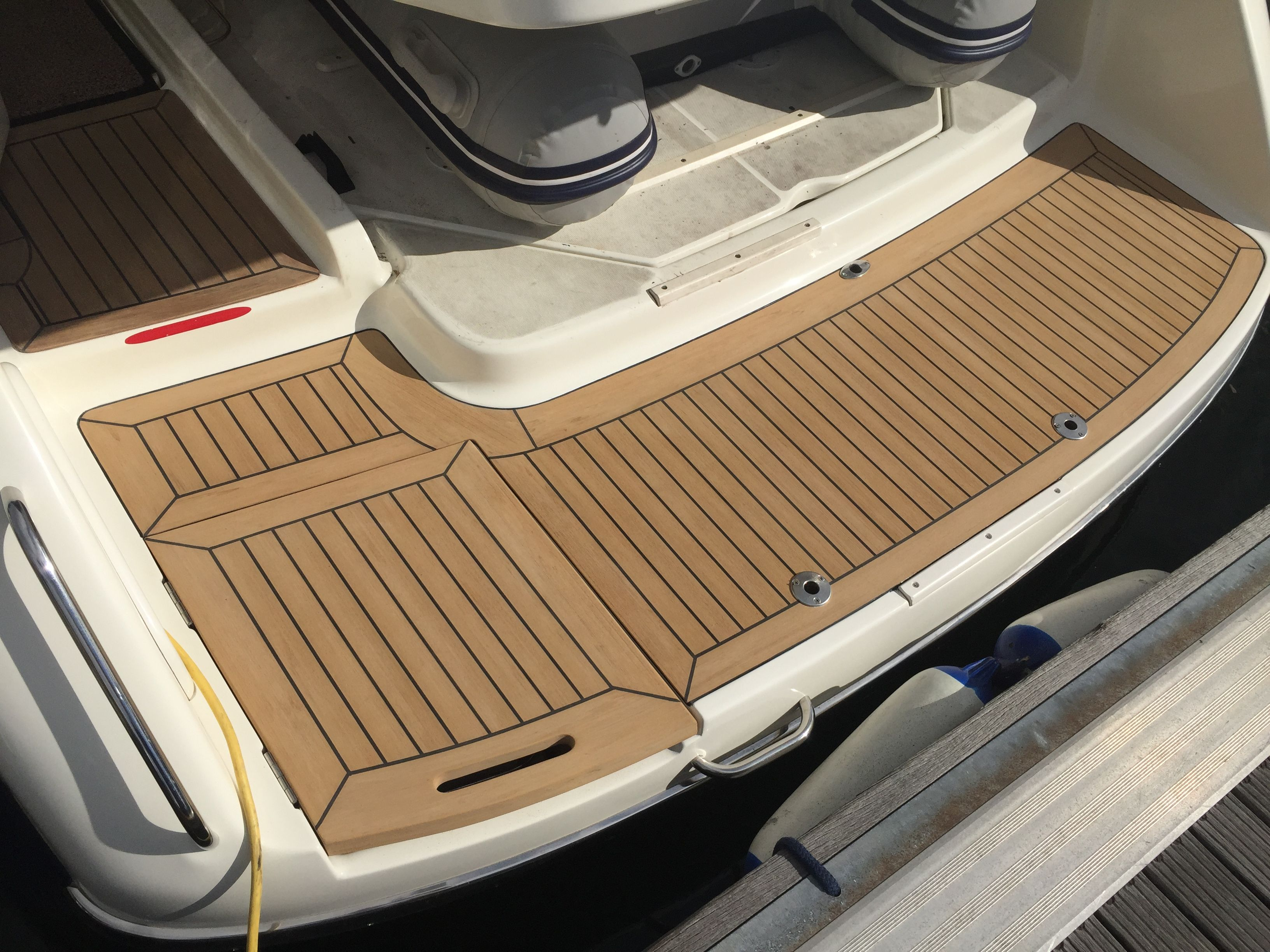 composite wood boat docks high hardness epoxy marine ...