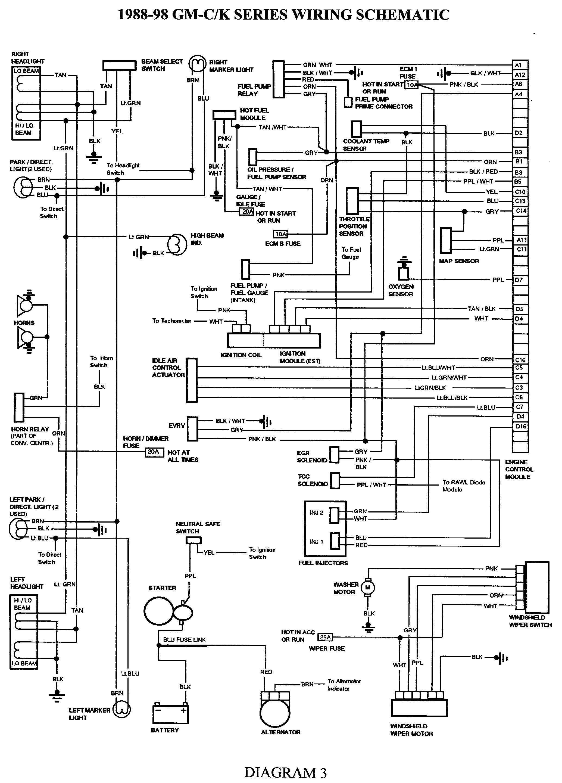 1999 Chevy Suburban Speaker Wiring