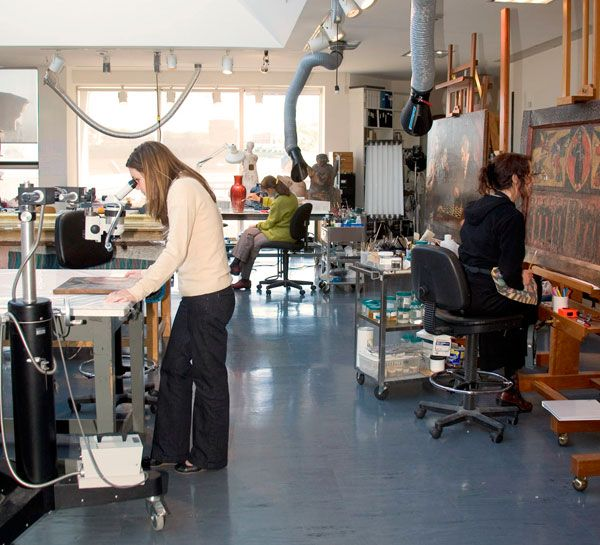 The Fuller Conservation Laboratory Accommodates Paintings And Objects  Conservation, As Well As Conservation Science. Worcester Art Museum.  #WorcesterArt