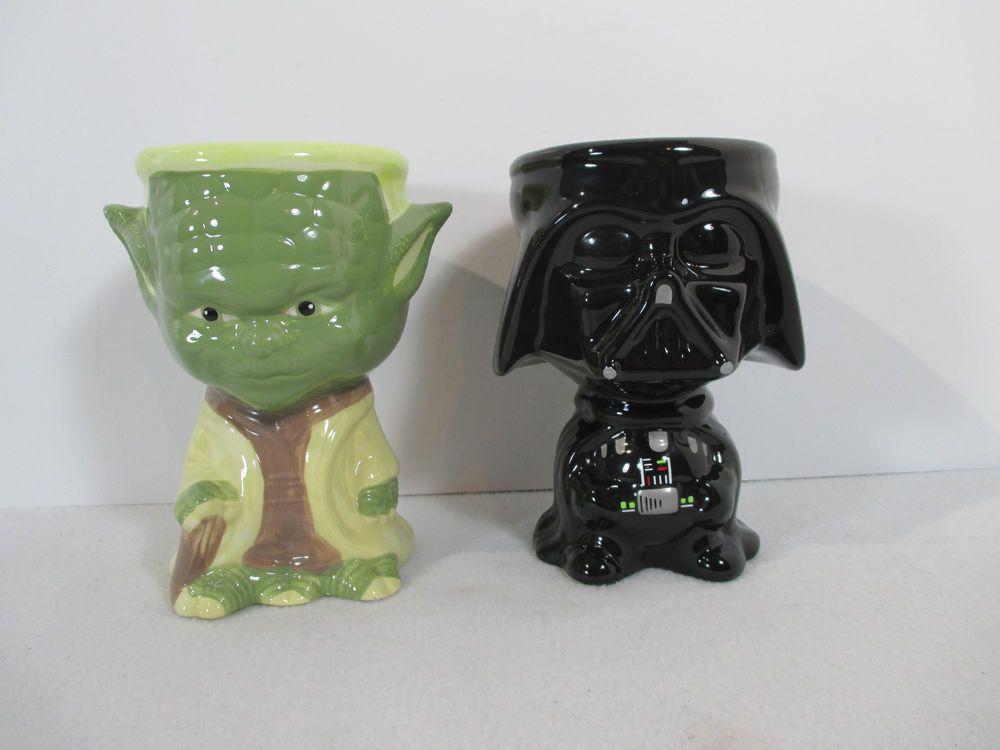Star Wars Darth Vader Storm Trooper 12oz Movie Ceramic Coffee Mug Tea Cup Lot 2 Galerie Mugs Coffee Mugs Tea Cups
