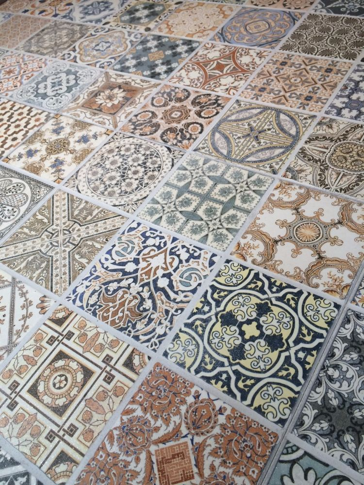 44x44 Cm Porcelain Moroccan Style Floor Wall Patchwork Tile Single 12 25 Home Furniture Diy Materials Flooring Tiles Ebay