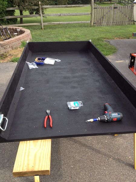 Home Built Truck Bed Slide The Garage Journal Board Vehicles