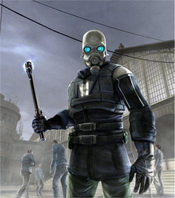 Image sourced 'https://en.wikipedia.org/wiki/Combine_(Half-Life)#/media/File:Civil_Protection_(Half-Life).jpg' sourced 02/03/17