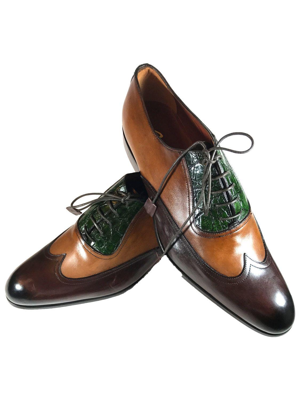 d2f3df573 La Fatima Men Leather Shoes