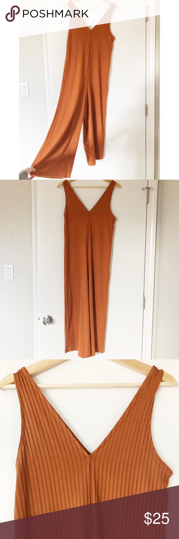 9089841e99e ZARA Orange Jumpsuit Burnt orange jumpsuit Great Pre-Owned Condition Zara  Other