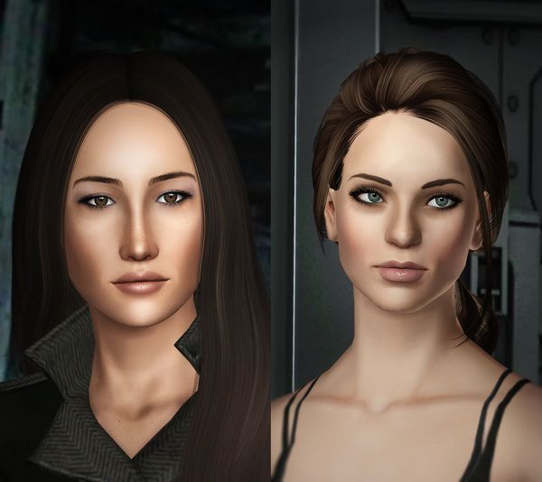 MAGGIE Q as NIKITA MEARS by Kurasoberina - Sims 3 Downloads CC Caboodle