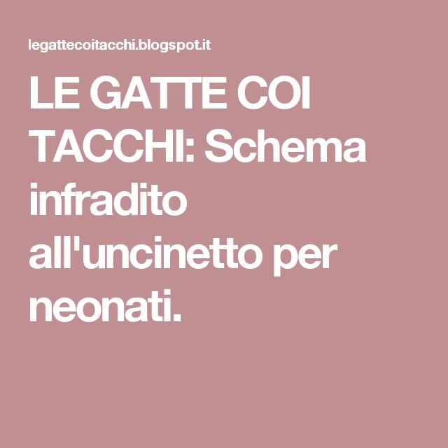 Le Gatte Coi Tacchi Schema Infradito Alluncinetto Per Neonati