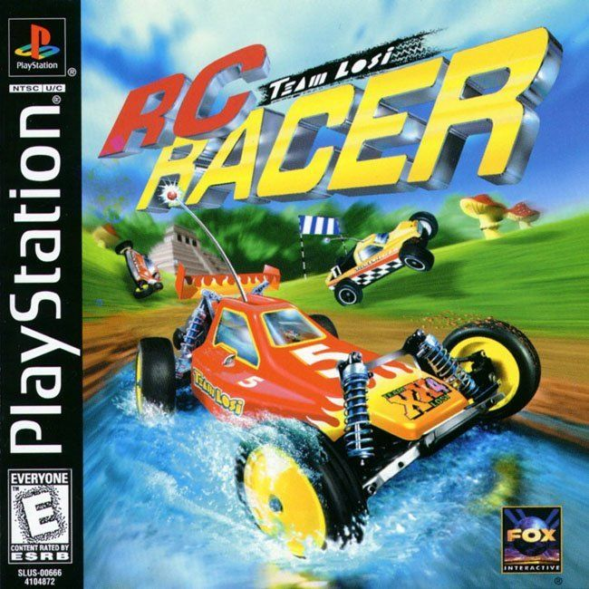 Comprar Jogos Ps 2 Xbox 360 Dvd Xbox360 Playstation 2 Ps2: Jogo RC RACER Para PlayStation PSX PS1 PSONE PS2