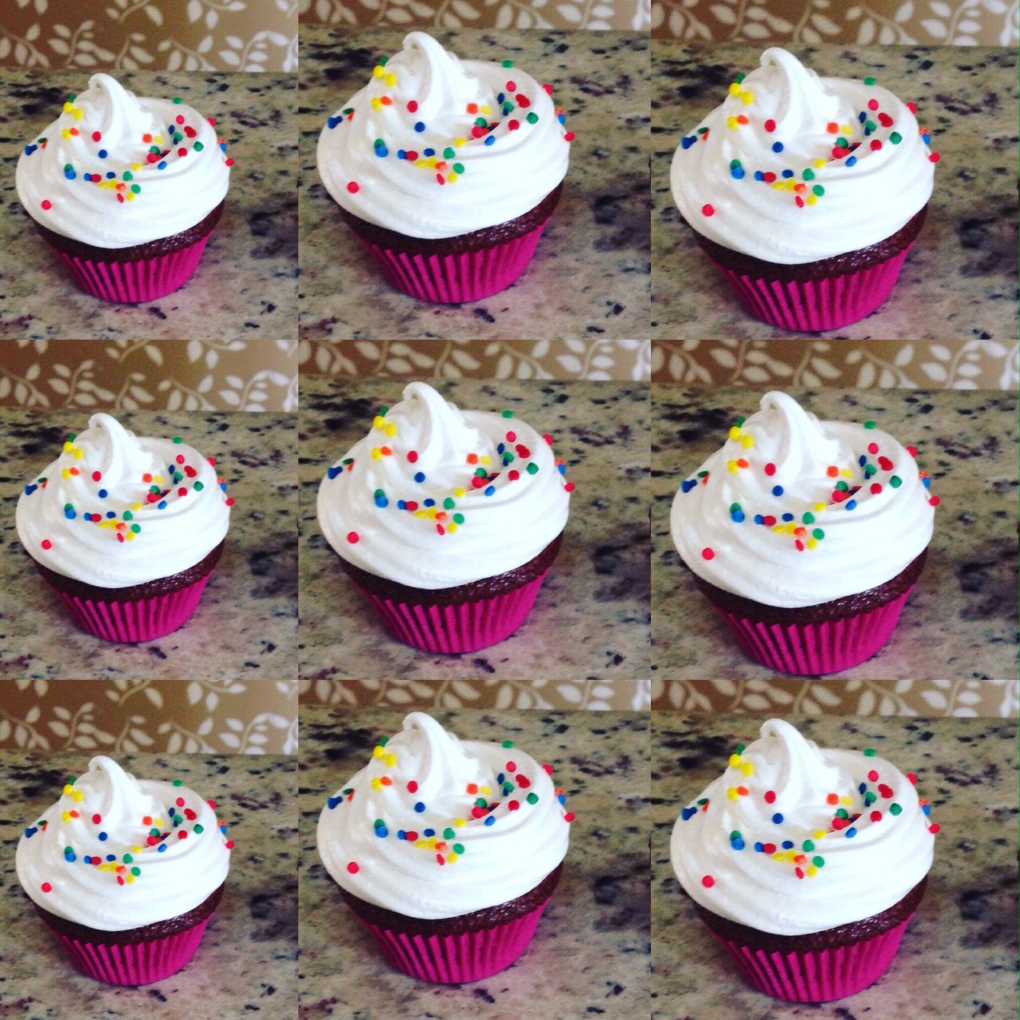 #deliciasdafaby #minicupcakesdeliciosos de marshmelow
