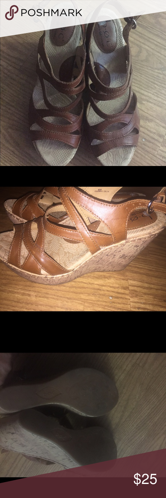 Born concept sandals B.O.C. Sandals. Worn two times. In excellent condition. Born Shoes Sandals