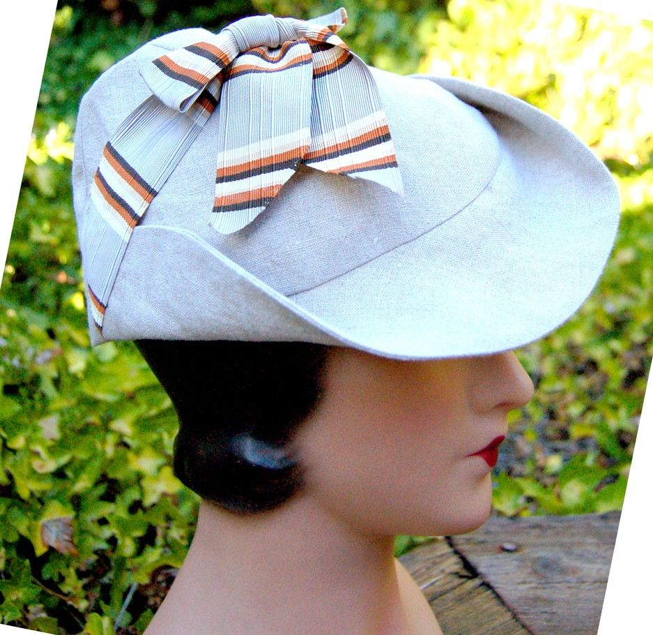 Sporty Toppers 1930s Hat Pattern 1930s Hats Hat Pattern Historical Hats