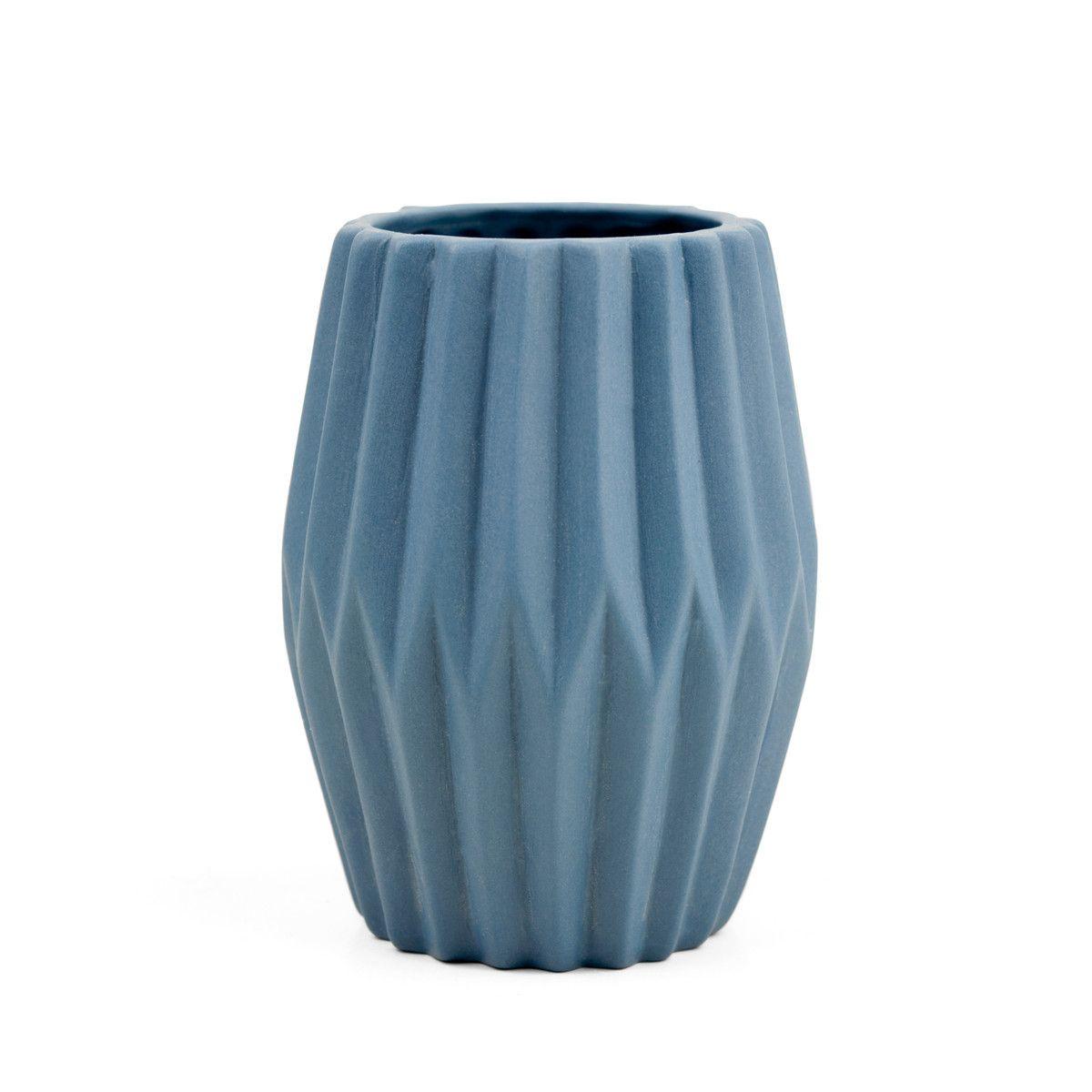 Novoform Aps Novoform Riffle 3 Keramikteelichthalter Vase Blau Jetzt Bestellen Unter Https Moebel Ladendirekt De Dekorat Vase Kerzenstander Dekoration