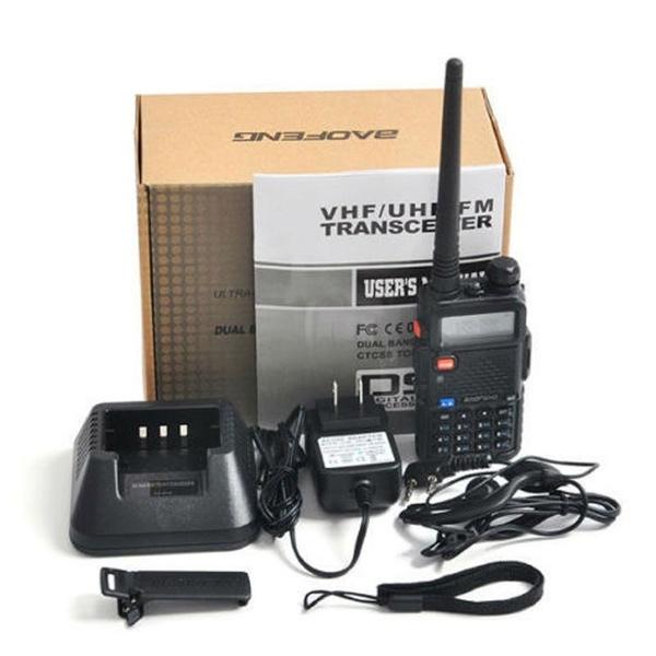 Baofeng *UV-5R Cable PLUS* 136-174//400-520MHz Ham Two-way Radio Walkie Talkie