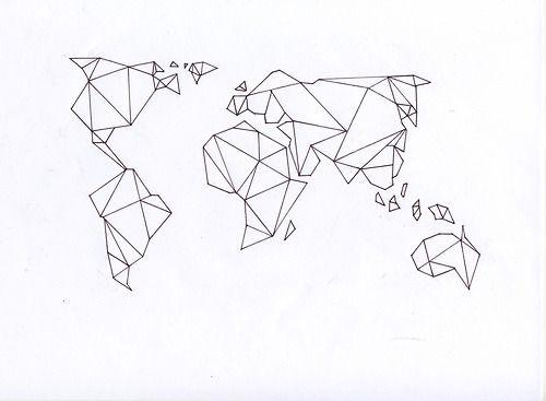 Imagem de world map and art na pele pinterest mapas cute art and drawing image on we heart it gumiabroncs Images