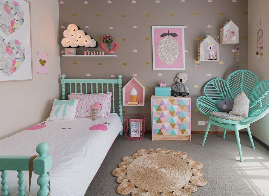 espa os l dicos quarto de crian a crian as kids decora o quarto menina decora o. Black Bedroom Furniture Sets. Home Design Ideas