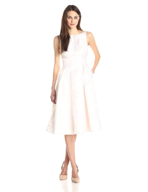Sleeveless Mid Length Dress by Adrianna Papell