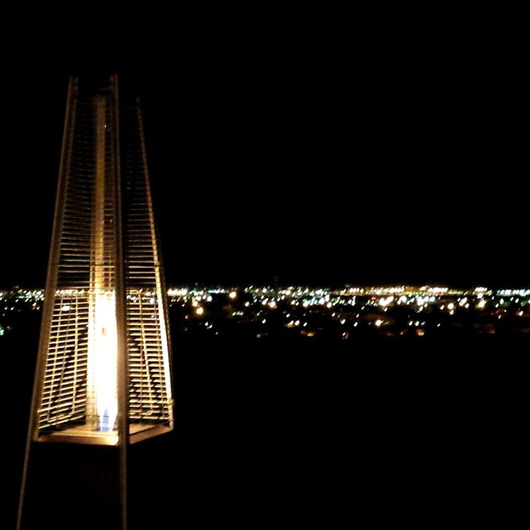 View From The Buttes Resorts Top Of The Rock Restaurant At Night