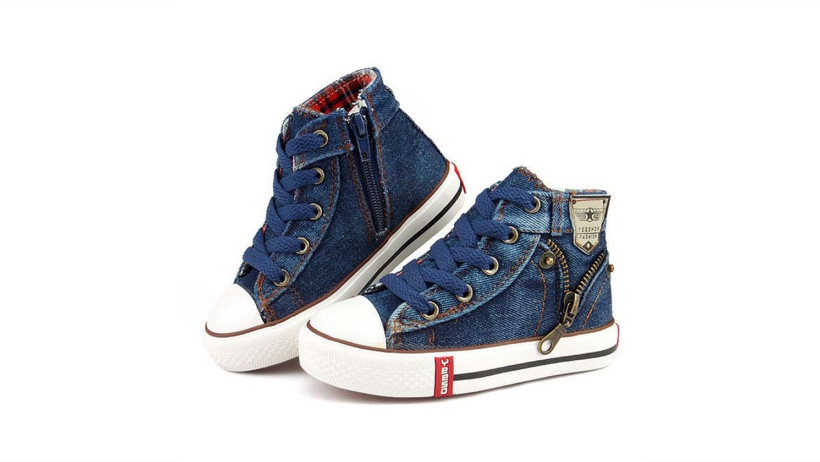 3745b04c28 2018 Canvas Children Shoes Sport Breathable Boys Sneakers Brand Kids ...