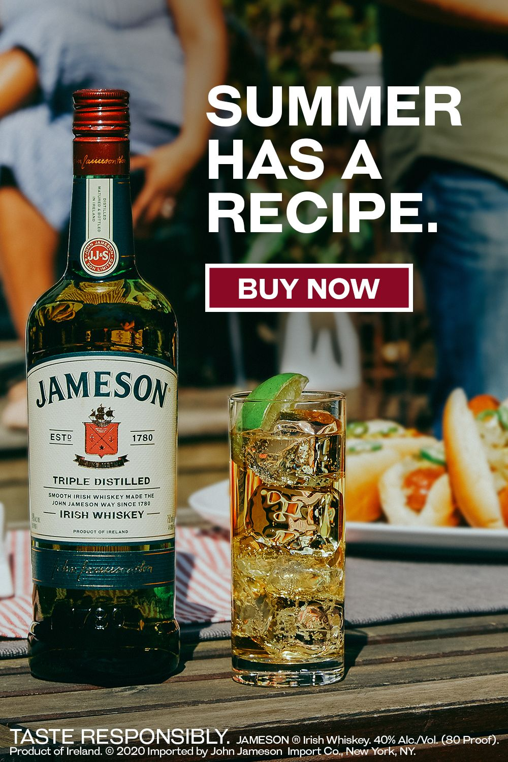Buy Jameson Irish Whiskey online