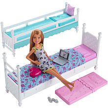 Barbie Sisters Bunk Bed And Stacie Accessory Set Barbi Zamok