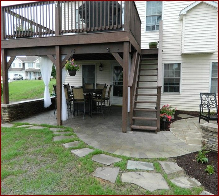 Garden Decking Ideas For Small And Large Plots: Stunning Under Deck Patio Ideas Under Deck Patio Design