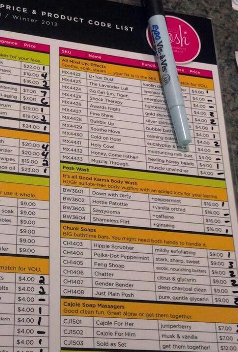 great idea laminate your business inventory list and keep track of