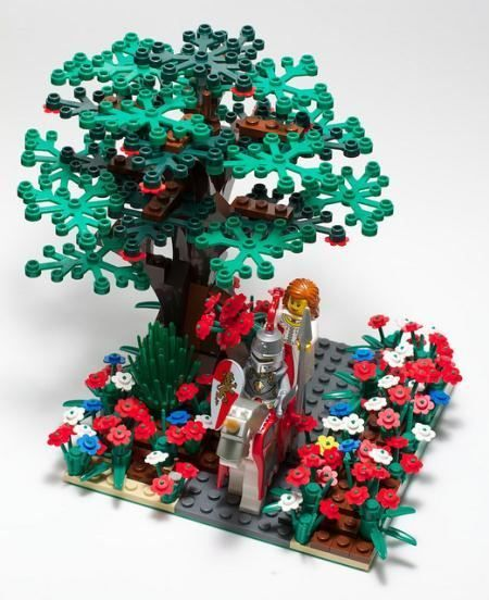 Lego King's Knight & Princess | Flickr - Photo Sharing! | ReBrick | From LEGO Fan To LEGO Fan