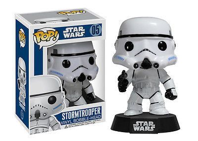Inspired by designer toys and stylized character collectibles the world over, Funko is back with Pop. Bobble Heads. This adorable collectible figure of a Stormtrooper comes packaged in a colorful window box. The unique design brings Funko's house style into the world of Bobble Heads, and we just know that this Stormtrooper is going to look great on your desk. Order yours today. #funko #popvinyl #starwars #collectible #Stormtrooper