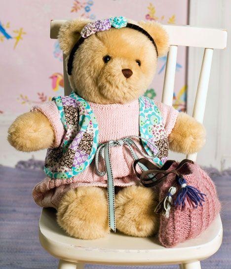 Build A Bear Bears With Scarves