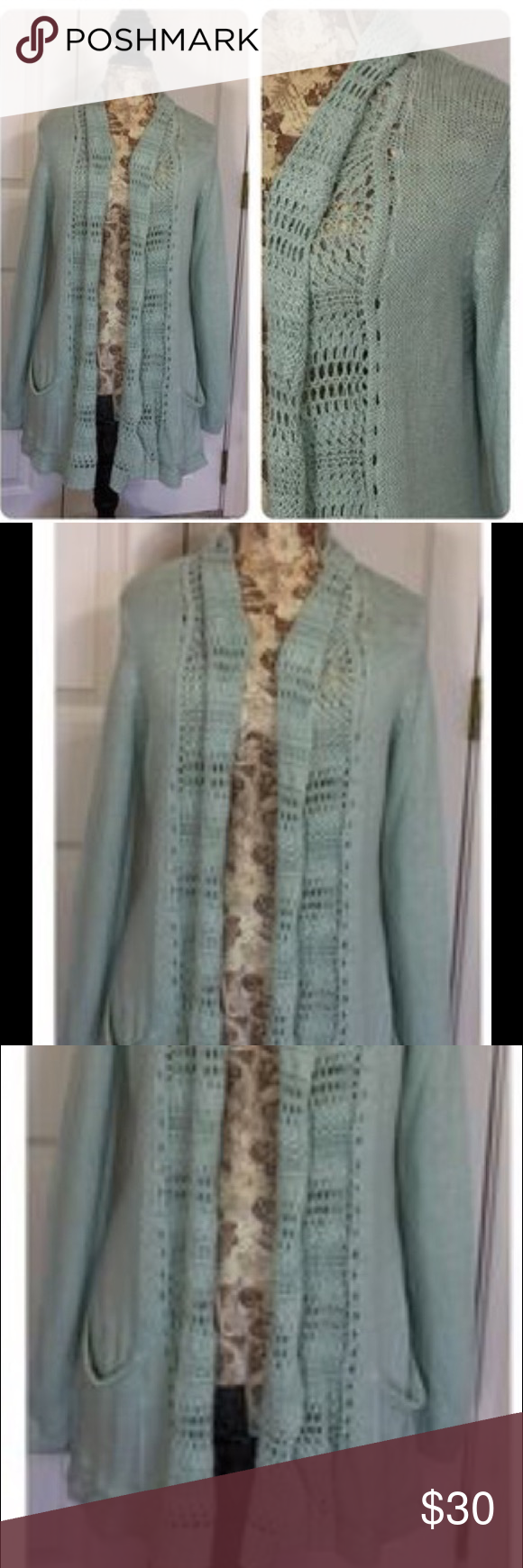 Angel of the North Light Green Cardigan | Smoke free ...