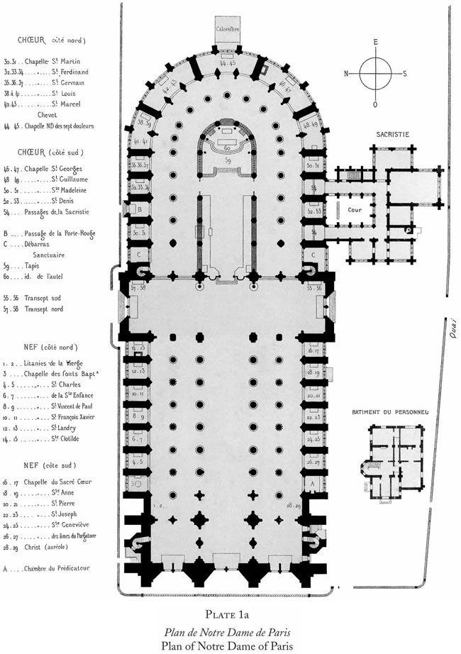 Plan De Notre Dame De Paris Bubble Diagram Architecture Cathedral Architecture Bubble Diagram
