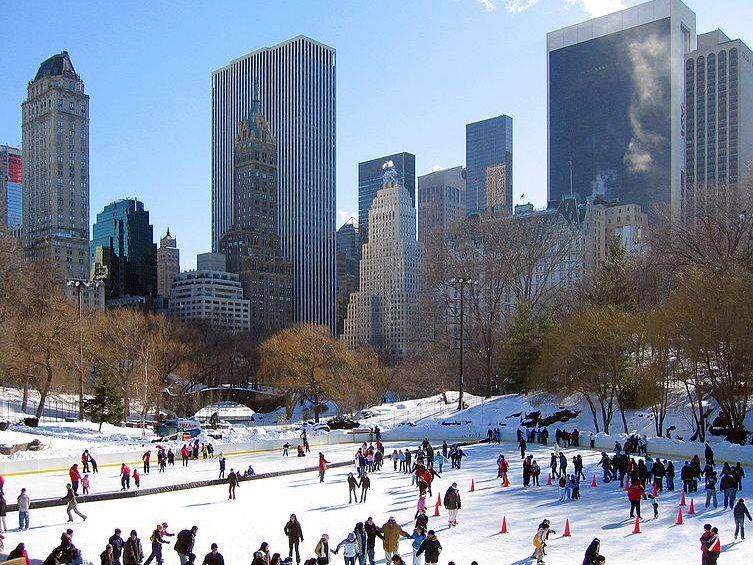 Central Park Iceskating