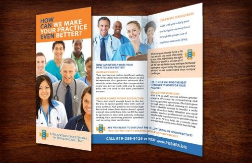 Examples Of Medical Brochures Graphic Design Pinterest Medical