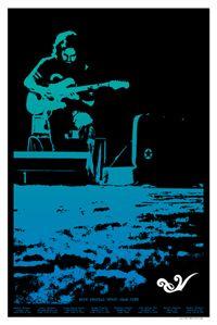 Eddie Vedder Tour Poster