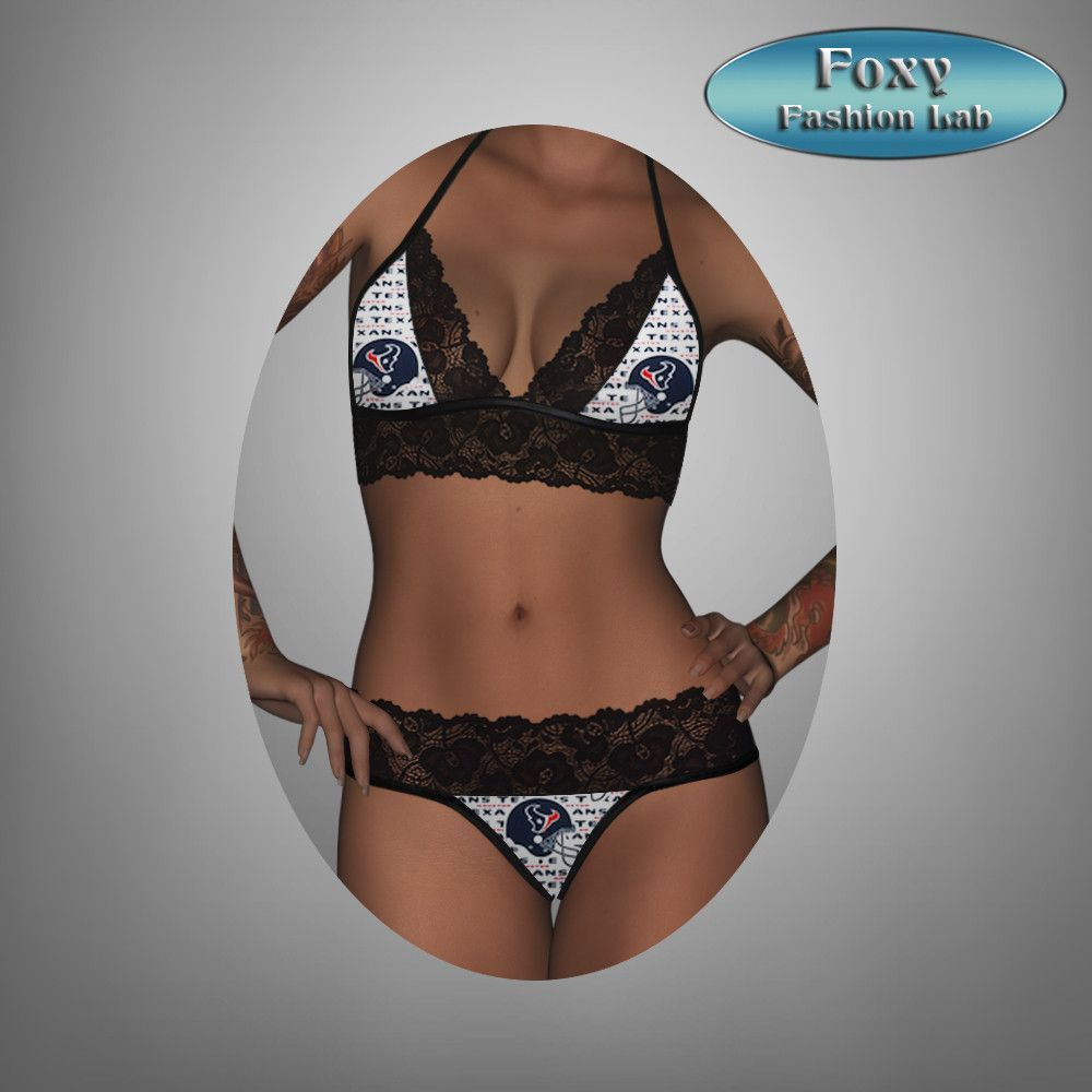 a86f6148c502 Houston Texans sexy scallop lace top - matching lace g string ...