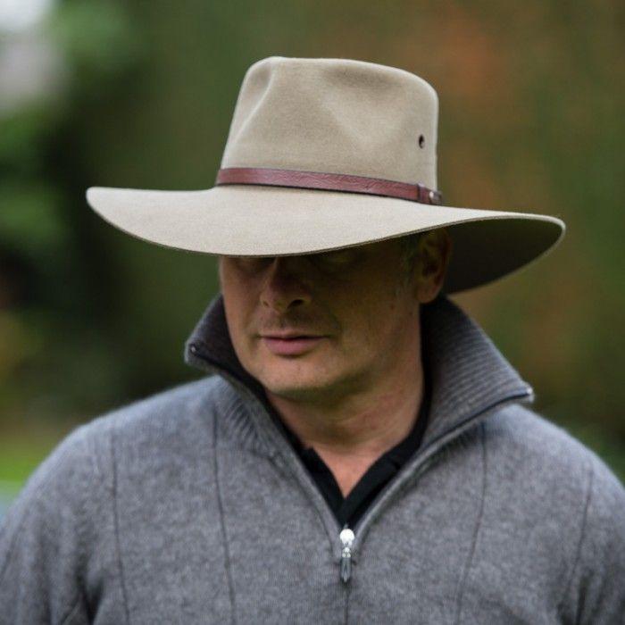 Akubra The Territory Hat - Santone Fawn  33cbb5e438f