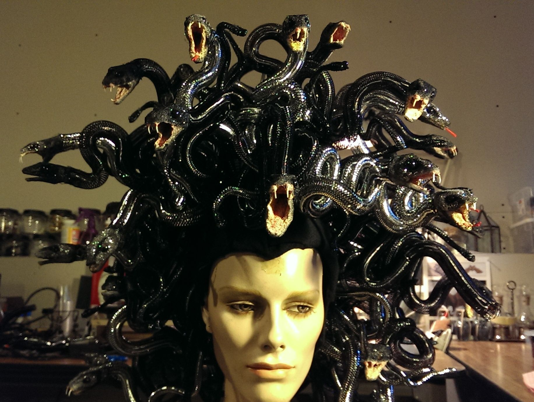 medusa hair costume i ve been wanting to pull off a medusa costume using my
