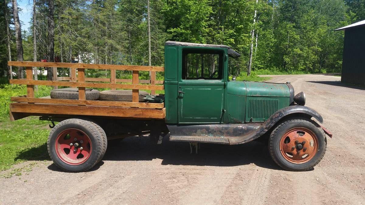 Super Cheap 1929 Ford AA Truck Ford trucks, Trucks, Old