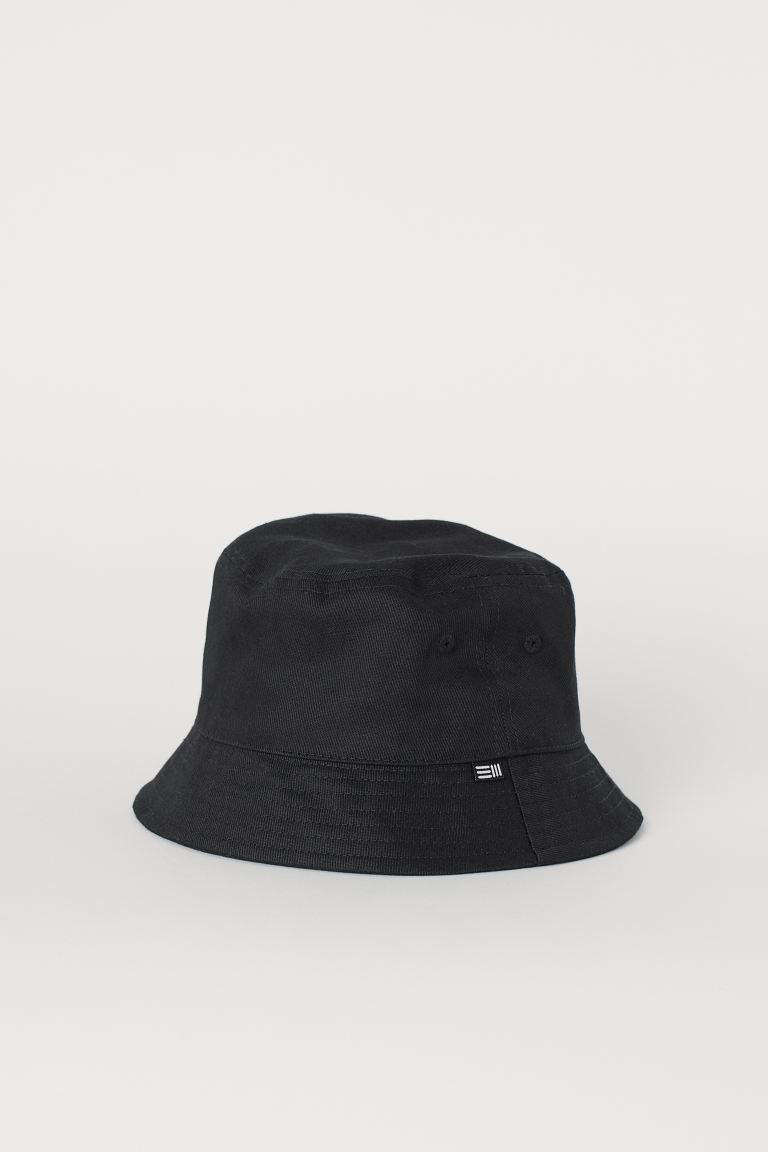 Cotton Bucket Hat Beige Men H M Us Bucket Hat Black Bucket Hat Outfits With Hats