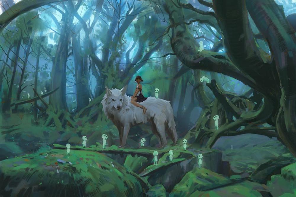 Princess Mononoke by snatti89 on DeviantArt