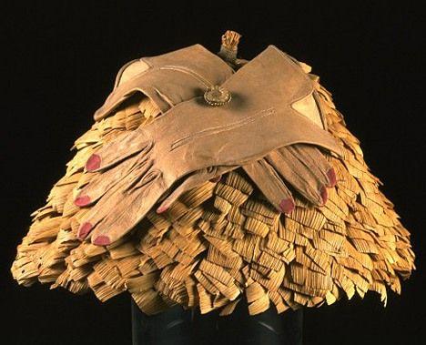 Elsa Schiaparelli with Eileen Agar, Hat with Gloves, 1936
