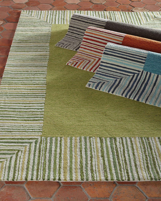 Paradise Indoor Outdoor Rug 8 3 X 11 6 Orange Decor Rugs