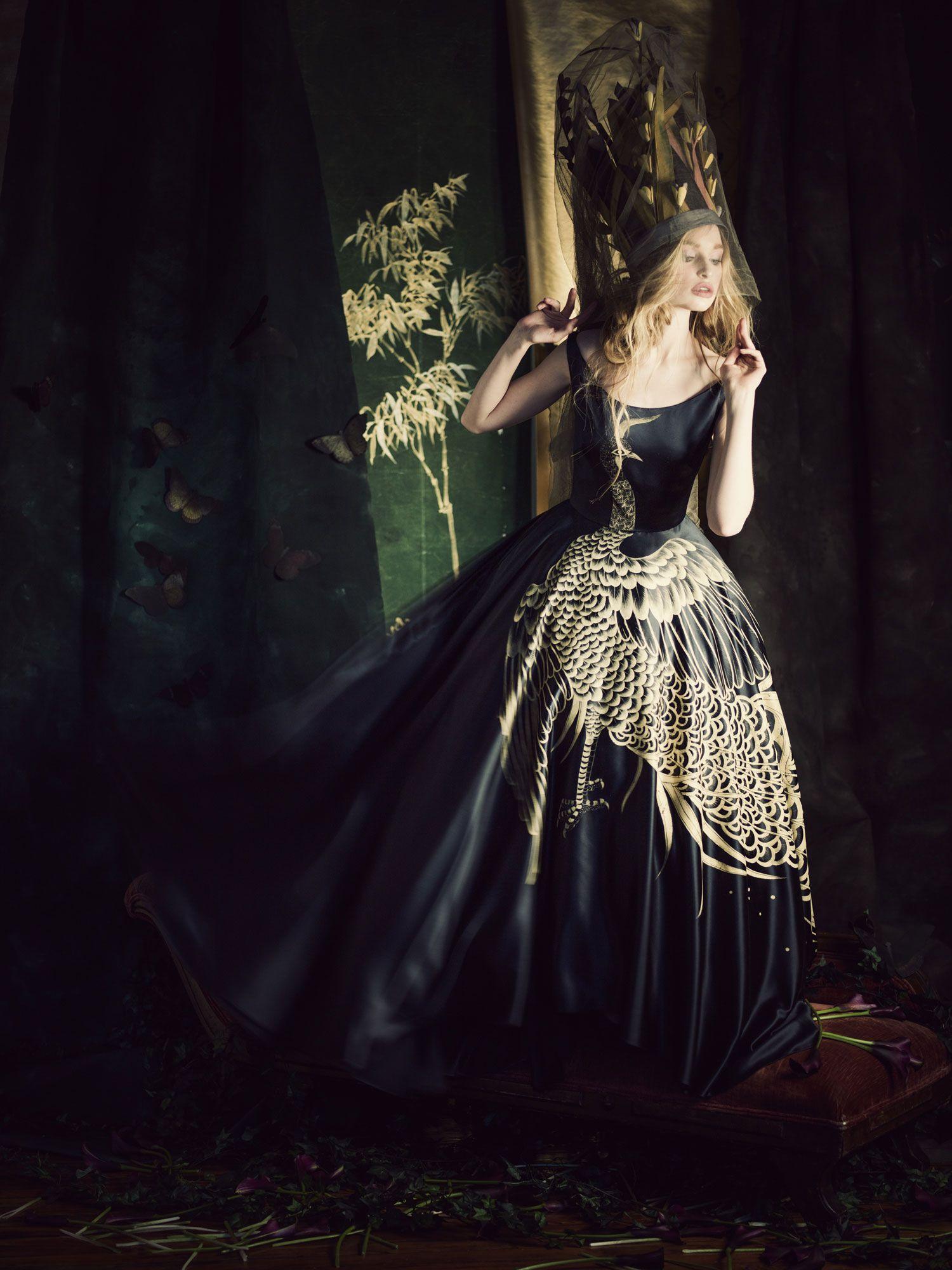 Cece wedding dress  This Is Amazing Misha Nonoo and de Gournay dress  Photo by Jamie